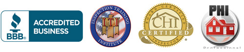 A-Pro Home Inspection Services is proud of its certifications