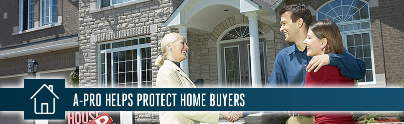 A-Pro Home Inspection Services helps Protect Home Buyers