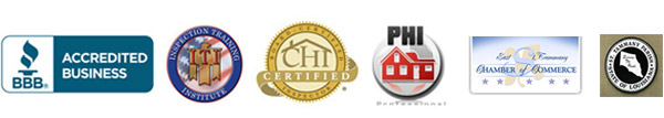 A-Pro Home Inspection Services is certified by multiple organizations